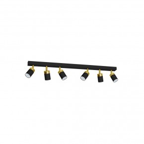 Lampa sufitowa JOKER BLACK/GOLD 6xGU10