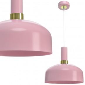 Lampa wisząca MALMO PINK 1xE27