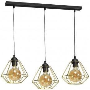 Lampa wisząca LUPO BLACK/GOLD 3xE27