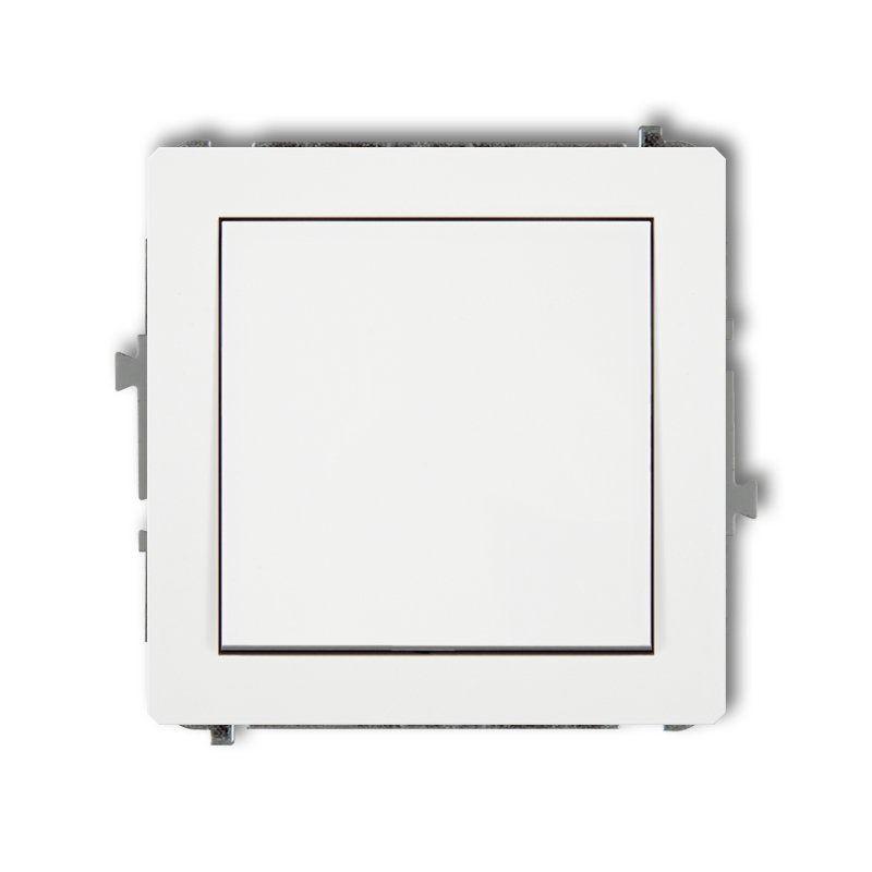 DWP-1 Przełącznik elektryczny jednobiegunowy biały DECO KARLIK