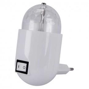 Lampki-do-kontaktu - dekoracyjna lampka wtykowa led do kontaktu z wielokolorowym światłem 3,5w impra led 03898 ideus