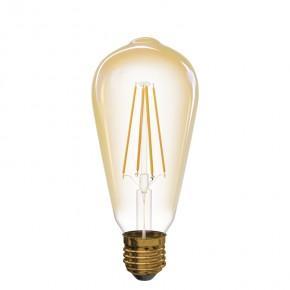 Gwint-trzonek-e27 - żarówka led dekoracyjna z filamentami e27 4w ciepłe światło 2200k vintage z74302 emos