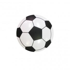 Oswietlenie-do-pokoju-dzieciecego - plafoniera lampa w kszałcie piłki nożnej do pokoju chłopca ball 18w led eko-light