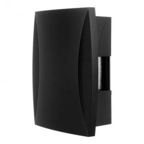 Domofony - gong dwutonowy dzwonek przewodowy czarny bim-bam 230v gns-921-czn zamel