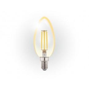 Gwint-trzonek-e14 - żarówka ledowa świeczka filament 6w e14 c37 3000k db020ww inq