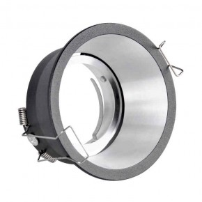 Oprawy-sufitowe-ruchome - czarne oczko podtynkowe oprawa regulowana mr-16 12v dc kolding polux