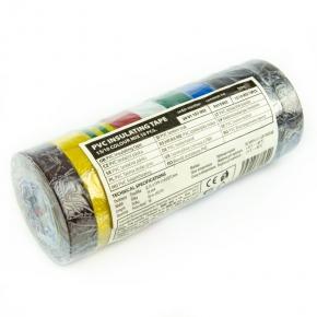 Tasmy-izolacyjne - zestaw taśm izolacyjnych 15mm/10m tęcza f615992 emos