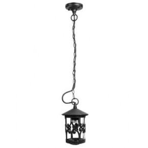 Lampy-ogrodowe-wiszace - lampa wisząca ogrodowa w kolorze czarnym e27 ip44 styl-4315 rum-lux