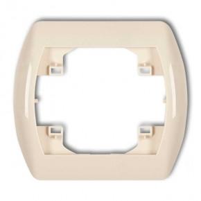 Ramki-instalacyjne - ramka pozioma pojedyncza beżowa 1rh-1 trend karlik