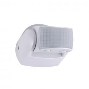 Czujniki-ruchu - biały czujnik ruchu zewnętrzny 2xpir patrol white 03924 ideus