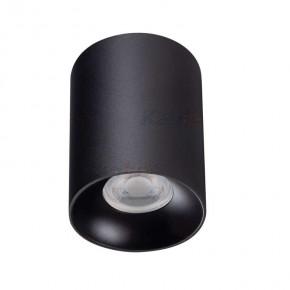 Oprawy-sufitowe - oprawa sufitowa downlight czarny riti gu10 27567 kanlux