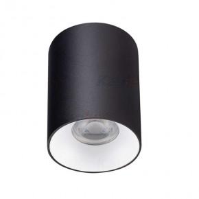 Oprawy-sufitowe - oprawa sufitowa tuba czarno-biała riti gu10 27568 kanlux