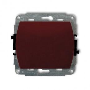 Wylaczniki-jednobiegunowe - włącznik pojedynczy brązowy trend 4wp-1 karlik