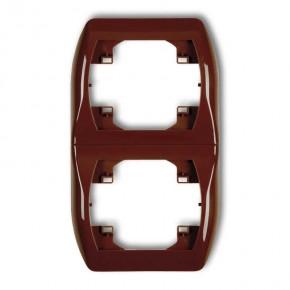 Ramki-podwojne - ramka pionowa brązowa podwójna trend 4rv-2 karlik