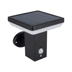 Kinkiety-ogrodowe - kinkiet ogrodowy zasilany energią słoneczną z czujnikiem ruchu solca 25774 kanlux