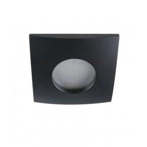 Oprawy-sufitowe-stale - oprawa punktowa ip44 czarna do łazienki gu10 qules ac l-b 26307 kanlux