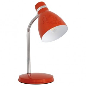 Lampki-biurkowe - pomarańczowa lampka biurkowa stal e14 40w zara 7563 kanlux