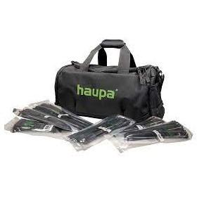 Szybkozlaczki - zestaw opasek kablowych uv w torbie nylonowej haupa