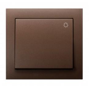 Wylaczniki-typu-swiatlo-zwierne - łp-5w/52 przycisk światła zwierny odbijający brązowy  ospel kier