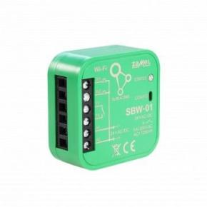 Sterowniki-i-odbiorniki - sterownik bramowy wi-fi jednokanałowy dwukierunkowy dopuszkowy sbw-01 supla zamel