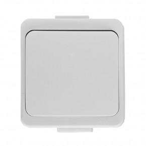 Wylaczniki-jednobiegunowe - włącznik pojedynczy natynkowy biały ip44 wnt-1s smart abex