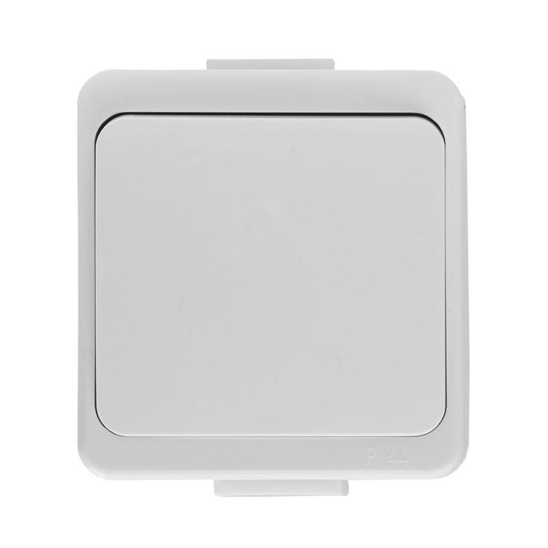 Wlaczniki-i-przyciski-dzwonkowe - włącznik dzwonkowy odbijający natynkowy biały ip44 wnt-6/7s smart abex firmy ABEX