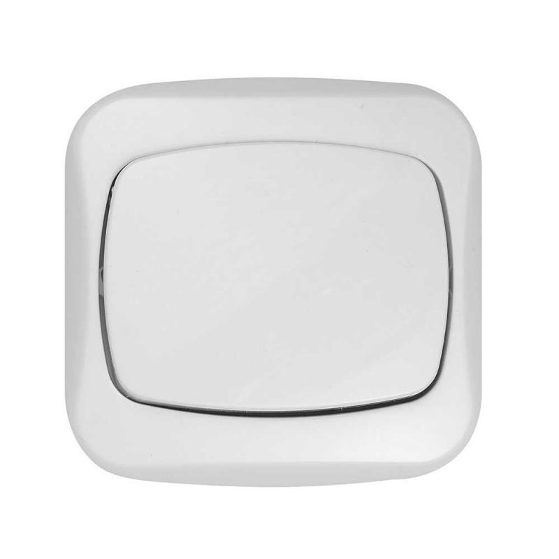 Wlaczniki-i-przyciski-dzwonkowe - włącznik zwierny odbijający dzwonek/światło biały atut wp-6/7a abex firmy ABEX