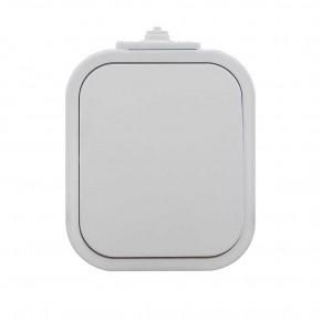 Wylaczniki-jednobiegunowe - włącznik pojedynczy natynkowy biały ip54 b2 wnt-1b2 abex