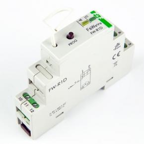 Sterowniki-i-odbiorniki - radiowy przekaźnik bistabilny fw-r1d 16a ac/dc szyna th f&f