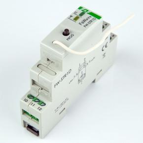 Sterowniki-i-odbiorniki - radiowy sterownik rolet fw-str1d  230v 1,5a szyna th f&f