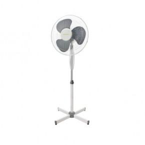Wentylatory-podlogowe - stojący wentylator podłogowy biały+szary 45w wysokość 125cm veneto-40gr 14950 kanlux