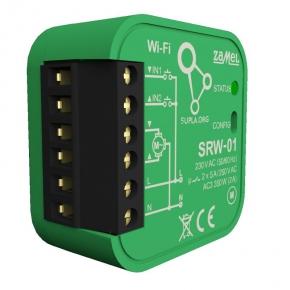 Sterownik-rolet - sterownik rolet wi-fi srw-01 supla zamel