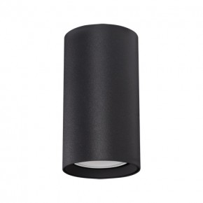 Oprawy-sufitowe - oprawa halogenowa tuba sufitowa w kolorze czarnym gu10 35w daria dwl 03945 ideus