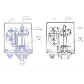 Wlaczniki-cisnieniowe - wyłącznik ciśnieniowy 2-8 bar do pompy lca-2 hydro-vacuum