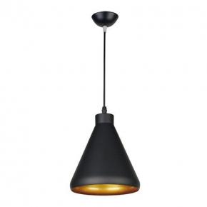 Wisząca czarna lampa sufitowa w nowoczesnym stylu GALAXA 03267 IDEUS