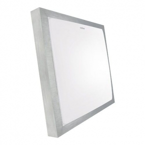 Energooszczędna plafoniera led  kwadratowa 32 cm białe neutralne światło 18W 03244 ALEX IDEUS