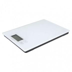 Wagi-kuchenne-i-lazienkowe - waga kuchenna do 5 kg biała płaska na baterie ty3101 emos