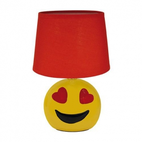 Urocza lampka nocna prezent na walentynki E14 RED EMO IDEUS