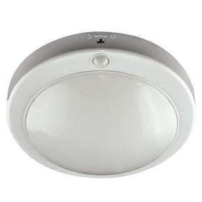 Lampa sufitowa z czujnikiem ruchu na klatkę schodową 18W z neutralnym światłem 03594 LOPEZ LED IDEUS