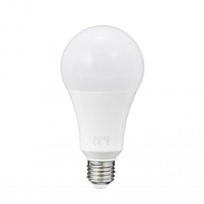 Żarówka LED ciepła E27 20W-125W 2000lm 3000K A80 POLUX