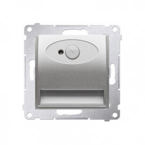 Oprawa oświetleniowa LED z czujnikiem ruchu 14V srebrny mat metalizowany DOSC14.01/43 seria Simon 54 Kontakt-Simon
