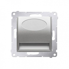 Oprawa oświetleniowa LED 14V srebrny mat metalizowany DOS14.01/43 Simon 54 Kontakt-Simon