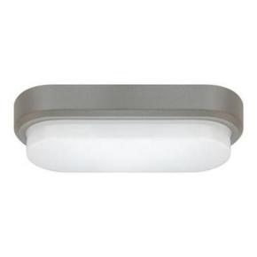 Plafoniera hermetyczna LED szara IP54 12W 4500K PABLO SMD LED C 03152 STRUHM
