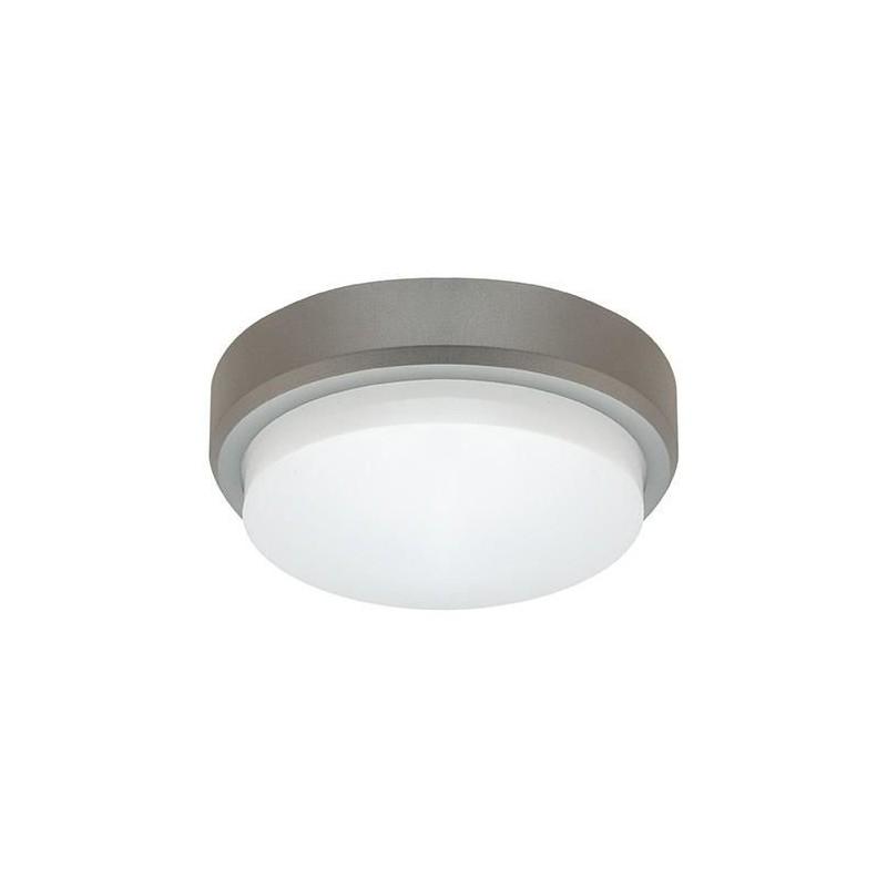 Plafoniera hermetyczna szara IP54 4500K 12W 800lm 03153 PABLO SMD LED C IDEUS