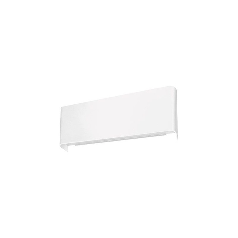 Kinkiet dekoracyjny led w białej obudowie 2x5W 2x405lm 4000K 180° 03553 ZELDA IDEUS