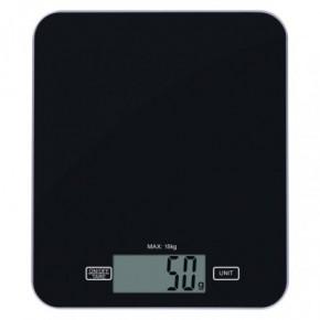 Wagi-kuchenne-i-lazienkowe - waga kuchenna czarna płaska do 15kg ev022 emos