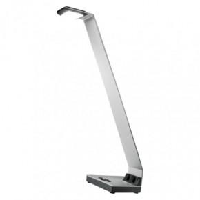 Lampki-biurkowe - lampa biurkowa  srebrna nowoczesna led  3w alvin z7607s emos