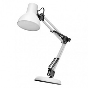 Lampki-biurkowe - lampa biurkowa typu pixar biała e27 48 cm lucas e27 z7609w emos