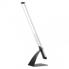 Lampki-biurkowe - lampa biurkowa modern led lenny 8w 4000k srebrna z7608s emos