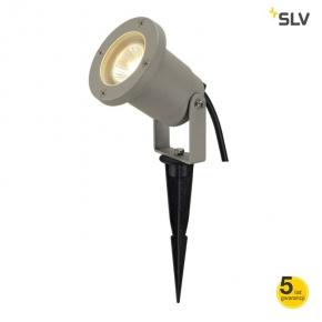 Lampa ogrodowa wbijana srebrnoszara GU10 Nautilius Spike 227418 SPOTLINE